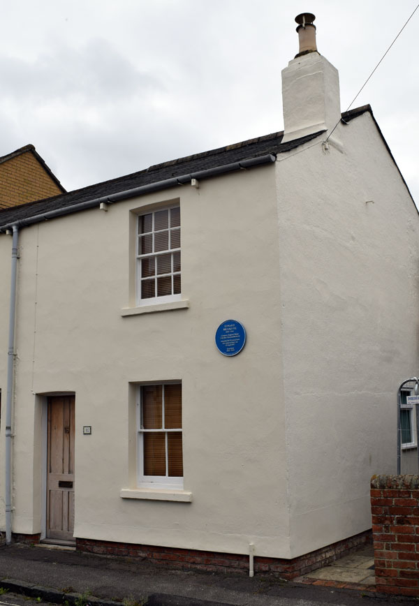 Edward Brooks's house in Windsor Street
