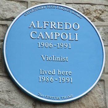 Plaque to Campoli