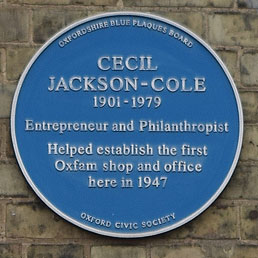 Jackson-Cole plaque